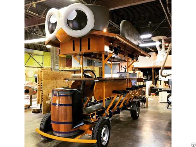 Start An Under Taking Brew Tours Electric With Pedal Assit Party Pub Beer Bike