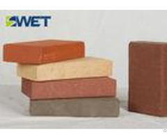 Durable Clay Refractory Fire Bricks Exact Dimension Good Thermal Stability
