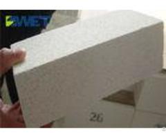 Durable Light Mullite Refractory Fire Bricks For Glass Furnace Good Heat Shock