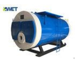 Textile Industry High Efficiency Steam Boiler Fullautomatic Horizontal Type Gas Fuel