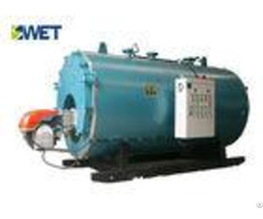 Horizontal Natural Gas Steam Boiler Wns Series 95 99% Testing Efficiency