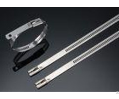 Naked Ss304 Ss316 Ladder Type Stainless Steel Cable Ties Self Locking 450mm