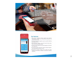 Handheld Smart Pos Payment Terminal
