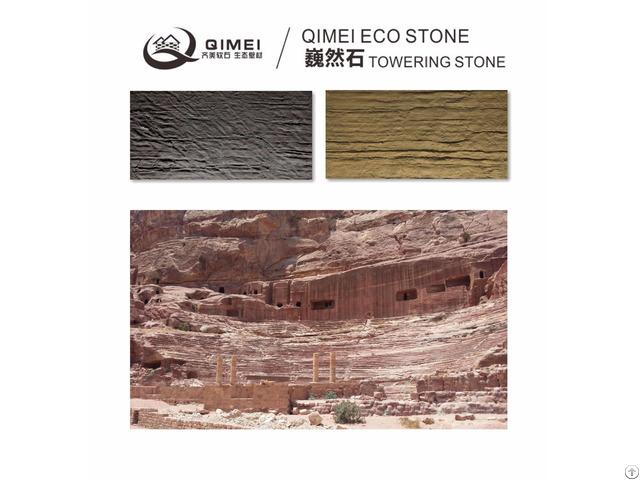 China Origin Unconventional Facing Decoration Materials Soft Stone Tile