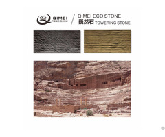 China Origin Unconventional Facing Decoration Materials Soft Stone Tile