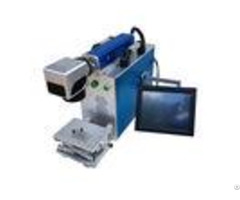 7000mm Metal Marking Machine Odm Text 0 15mm Minimum Character Blue Color