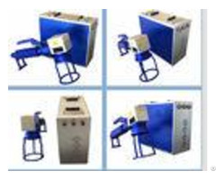 Aluminum Oem Bar Codes Metal Laser Engraving Machine 0 01 1mm Depth