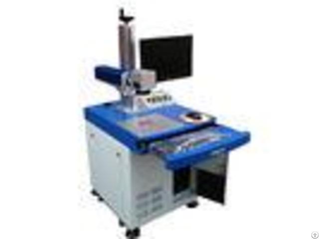 20w Fiber Laser Marking Machinetext On Metal Odm Two Years Guarantee