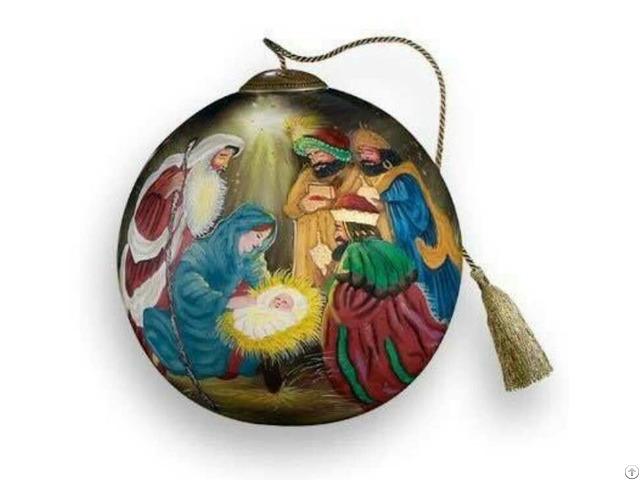 Inside Paint Glass Ball
