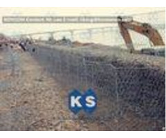 Pvc Coated Galvanized Hexagonal Wire Mesh Cages Double Twisting Grid Reinforced