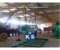 Heavy Galvanized And Zinc Gabion Wire Netting Machine 100x120mm 3200mm Width