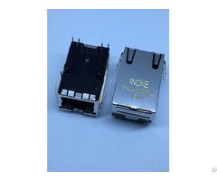 Ingke Ykju 8309nl 100% Cross 08b0 1x1t 36 F Through Hole 1 Port Rj45 Modular Jack Connectors