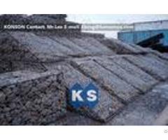 Galfan Hexagonal Wire Mesh Woven Steel Gabion Boxes With Astm A975 97 Standard