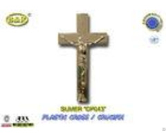 Dp043 Size 19 5 11cm Plastic Cross And Crucifix Crucifijo Cruces Con Cristoaccessori Funebri