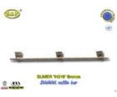 Ref H019 Zinc Alloy Metal Coffin Handles Zamak Casket Long Bar 1 Meter 3 Base