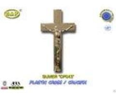 Dp043 Size 19 5 11cm Plastic Cross And Crucifix Crucifijo Cruces Con Cristoaccessori Funebri