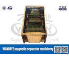 Large Capacity 3 Layer Roller Type Magnetic Separator For Conveyor Belts