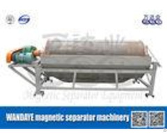 Permanent Half Counter Current Water Concentration Drum Magnetic Separator