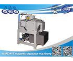 Automatic Water Cooling Magnetic Iron Ore Separator For Slurry 750mm