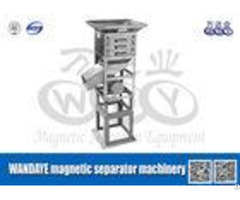 Non Polluting Drum Roller Drawer Magnets High Gradient Magnetic Separator