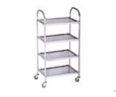 Stainless Steel Hotpot Trolley Square Tube