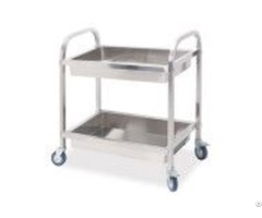 Stainless Steel Bowl Collected Cart