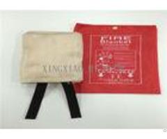 Flame Resistant Emergency Fire Blanket Moisture Proof Satin Plain Twill Weaving