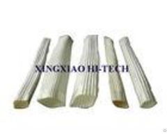White Color Wall Braided Heat Insulation Sleeve Flame Retardant 2 0 150mm