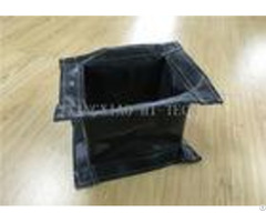 Rectangular Fireproof Flanged Expansion Joint Fabric High Temperature Resistant