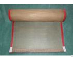 Leno Weaving Coated Fiberglass Mesh Conveyor Belt Fabric High Temperature Resistant