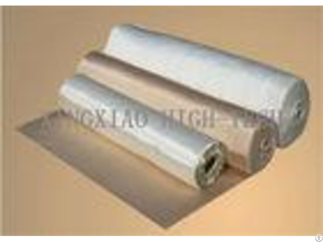 Acrylic Coated High Silica Fabric For Piping Flame Retardant Anti