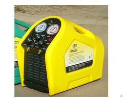 Auto Small Yellow Hot Selling Refrigerant Recovery Machine Cm2000a