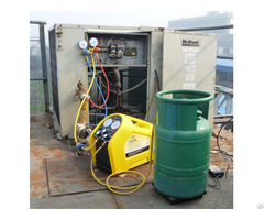 Air Conditioner Gas Refrigerant Recovery Machine R134a R22