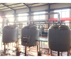 500l Stainless Steel Cooper Beer Brewery Equipment