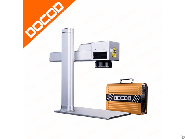 Docod Mini Fiber Laser Marking Engraving Machine 10w 20w Economic Professional High Quality