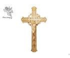 Coffin Cross Manufacturer Size 29 16cm Different Color Jesus 4# Casket Crucifix