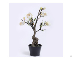 Artificial Flowering Magnolia Tree