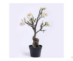 Artificial Flowering Magnolia Tree