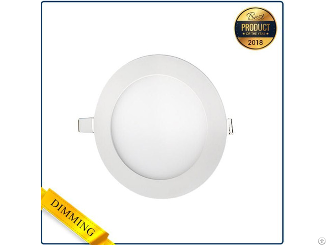 Simplicity Round Ultrathin Shape Led Panel Light