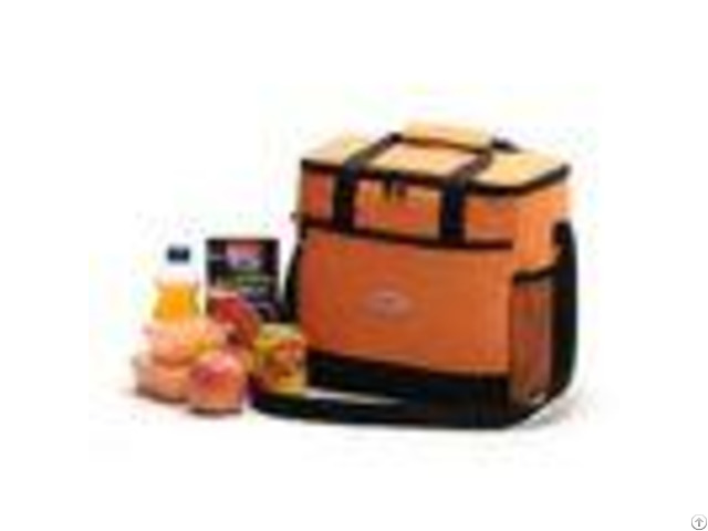 Fabric Thermal Insulated Soft Coolers Bags Large Volume For Taking Away Food Storage