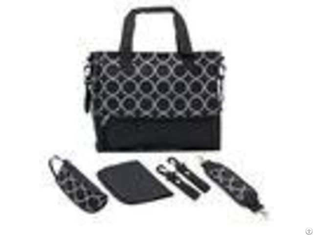 Environmental Multi Function Yummy Mummy Bag With Polyester Surface Fabric