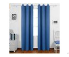 Dark Blue Custom Window Curtains With Multiple Sizes And Pattern Layouts