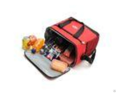 Portable Lunch Insulation Cooler Bags Outdoor Oxford Cloth For Ice Pack Custom