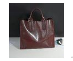 Cowhide Casual Tote Black Leather Handbagswith Mobile Phone Document Pocket
