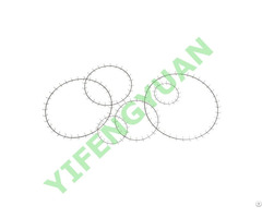 """10"""" 14"""" Reduced Clip Clamp Rings"""