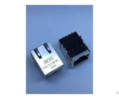 Ingke Ykd 8139enl 100% Cross Ss 7488s Yg Pg4 Ba 1 Port Rj45 Jack Modular Connector 8p8c