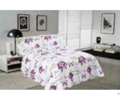 Rose Butterfly Cotton House Quilt Covers With Colorful Printed Pattern Styles