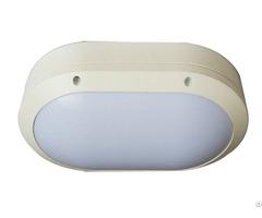 Die Cast Aluminum Housing 20w Oval Led Bulkhead Light Ip65 Outdoor Fixture