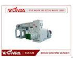 Vacuum Extruder Automatic Red Soil Brick Making Machinelow Power Consumption