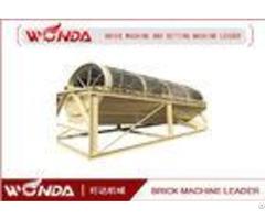 Gds 3000 Steel Roller Screen Concrete Block Crushersingle Deck 9r Min Rotate Speed